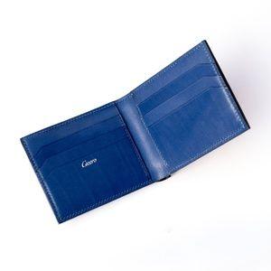 71a3edc86d98 Cicero Men Leather Wallet Hand Stitch Calf Leather